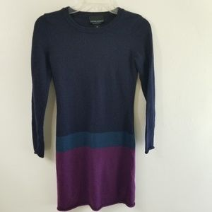 Cynthia Rowley Color Block Sweater Dress